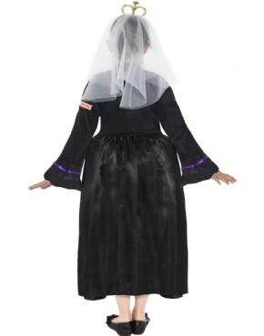 Child Horrible Histories Queen Victoria Costume - Side View
