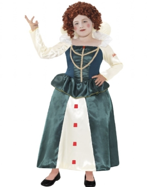 Child Horrible Histories Queen Elizabeth I Costume