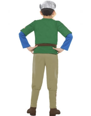 Horrible Histories Viking Boy Costume - Side View