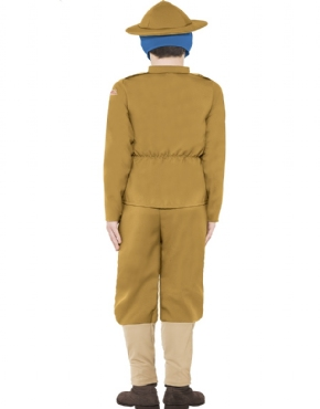 Child Horrible Histories WWI Boy Costume - Side View