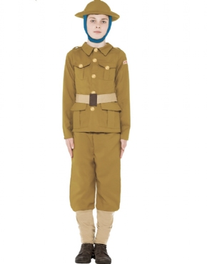 Child Horrible Histories WWI Boy Costume