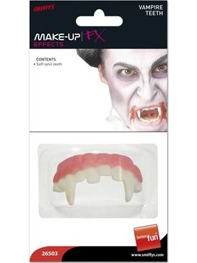 Horror Vampire Teeth Soft Vinyl
