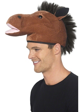 Horse Hat with Mane