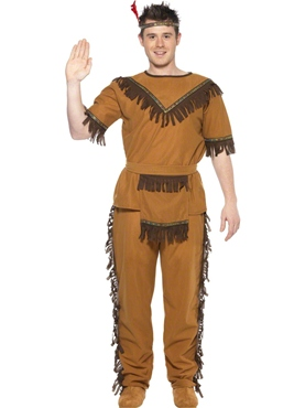 Adult Indian Brave Costume