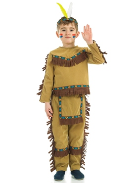 Child Indian Chief Costume