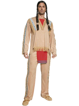 Adult Indian Chief Costume Couples Costume