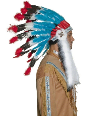 Indian Headdress - Side View