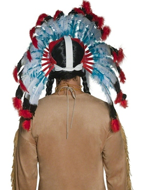 Indian Headdress - Back View