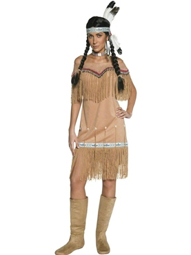Adult Indian Lady Costume
