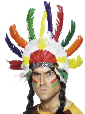 Indian Sitting Bull Headdress