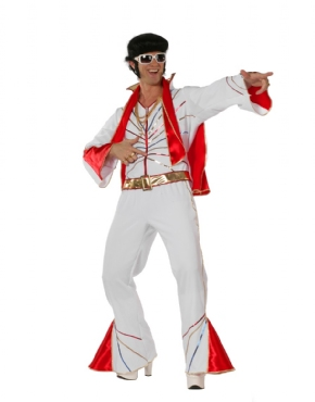 Adult Mr Elvis Costume
