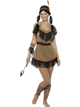 Adult Indian Woman Costume