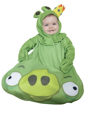 Infant Angry Birds King Pig Costume