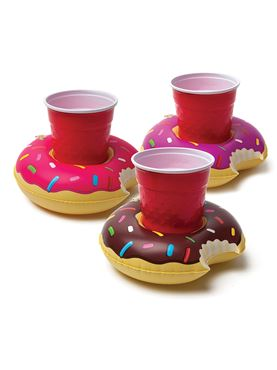 Inflatable Donut Drink Holders