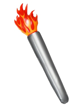 Inflatable Flaming Torch