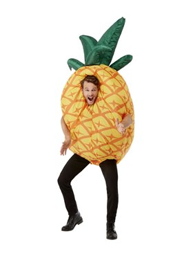 Inflatable Pineapple Costume - Back View