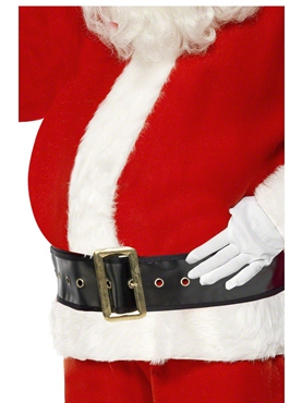 Inflatable Santa Big Belly - Back View