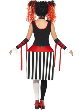 Adult Deluxe Jackie In A Box Costume - Side View