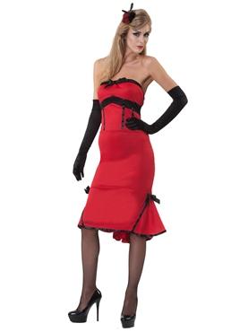 Jade Inferno 50's Style Burlesque Costume