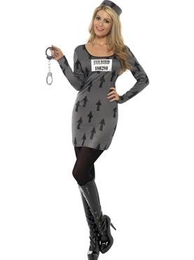 Adult Jailbird Costume Thumbnail