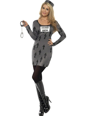 Adult Jailbird Costume