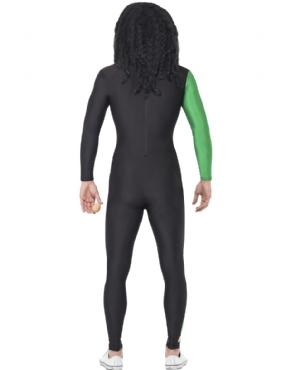 Adult Jamaican Bobsleigh Cool Runnings Costume - Side View