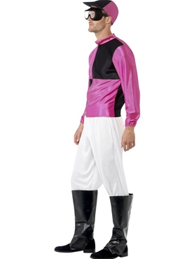 Adult Jockey Costume - Side View