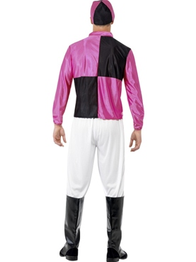 Adult Jockey Costume - Back View