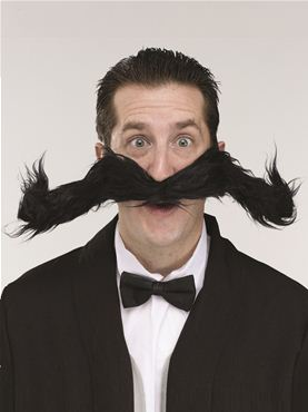Jumbo Bendy Moustache
