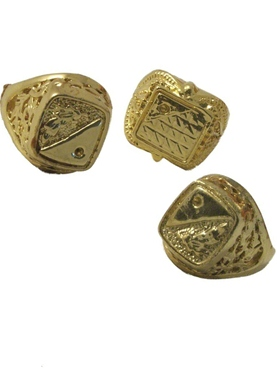 1 x Jumbo Size Gold Ring