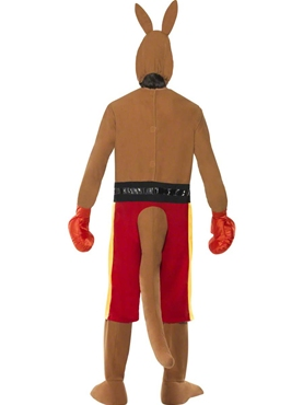 Adult Kangaroo Boxer Costume - Side View