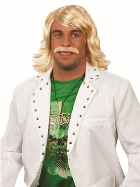 Adult Keith Lemon Wig and Moustache