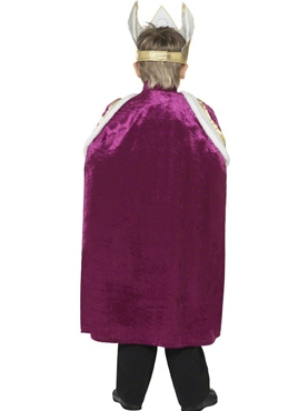 Child Kiddy King Childrens Costume - Side View