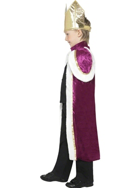 Child Kiddy King Childrens Costume - Back View