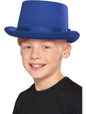 Kids Blue Top Hat