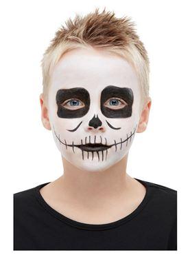 Kids Halloween Skeleton Make up Kit - Side View