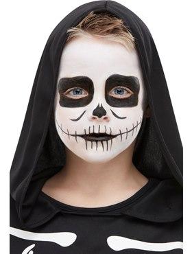Kids Halloween Skeleton Make up Kit