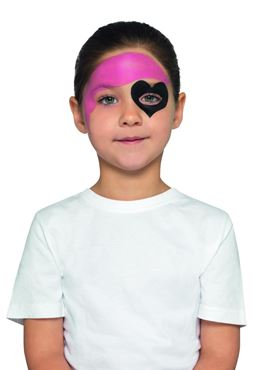 Kids Pirate Makeup Kit - Side View