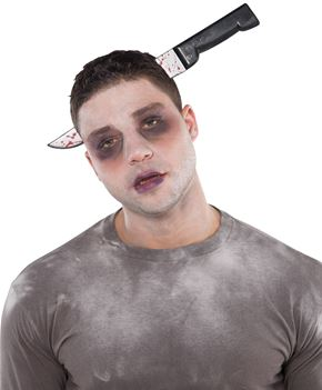 Knife Through Head Headband