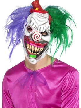 Kolourful Killer Klown Full Overhead Mask