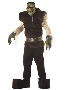 Adult Deluxe Lab Monster Costume