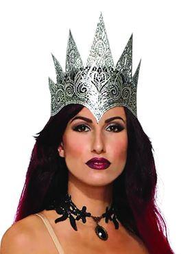 Lace Queen Crown Dark Royalty