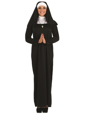 Adult Ladies Nun Costume
