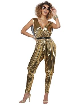 Ladies 70's Glitz N Glamour Costume Couples Costume