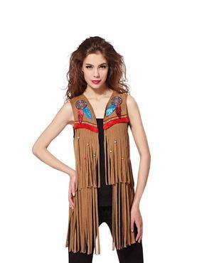 Ladies American Indian Waistcoat