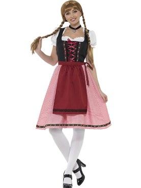 Ladies Bavarian Tavern Maid Costume Couples Costume