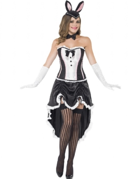 Adult Ladies Bunny Burlesque Costume