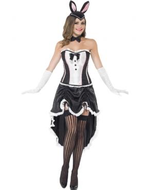 Adult Ladies Bunny Burlesque Costume