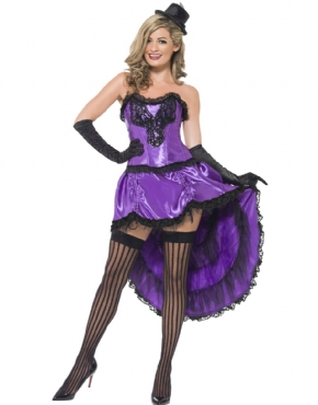 Adult Ladies Burlesque Glamour Costume