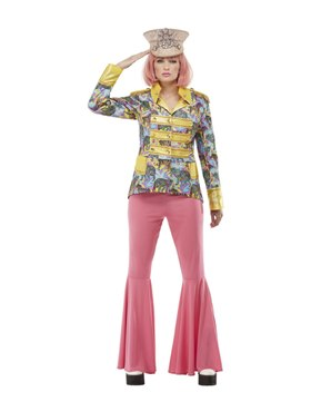 Ladies Carnival Jacket Couples Costume